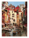 Mediterranean Seaside Holiday 1 Premium Giclee Print by Brent Heighton