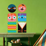 You-Things Totem Collection 3 Wall Decal Wall Decal by Wee Society