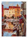 Mediterranean Seaside Holiday 2 Premium Giclee Print by Brent Heighton
