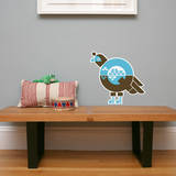 Letter Q - Quinnlyn the Quail Wall Decal Wall Decal by Wee Society