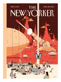 The New Yorker Cover - April 22, 2013 Premium Giclee Print by Luke Pearson