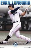 Evan Longoria Tampa Bay Rays Baseball Poster Prints