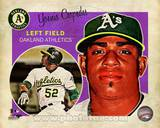Yoenis Cespedes 2013 Studio Plus Photo