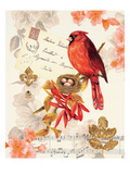 Regal Cardinal Posters by Colleen Sarah