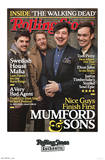 Mumford and Sons - Rolling Stone Cover Music Poster Affiche