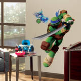 Teenage Mutant Ninja Turtles Leo Peel & Stick Giant Wall Decals Decalque em parede