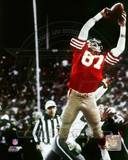 "Dwight Clark ""The Catch"" 1981 NFC Championship Game Photographie"