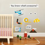 Awesome Collection 3 Wall Decal Wall Decal by Wee Society
