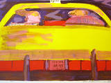 N. Y. Taxi - Rosa Ausgabe Limited Edition by Rainer Fetting