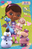 Doc McStuffins Cartoon Poster Fotografia