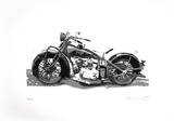 Indian (Motorrad), 2012 Collectable Print by Josef Hirthammer