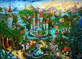 Magical Kingdom Fantasy Poster Photo