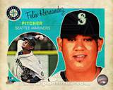 Felix Hernandez 2013 Studio Plus Photo