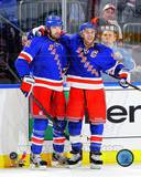Rick Nash &amp; Ryan Callahan 2012-13 Action Photo
