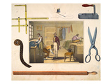 The Tailor, C.1845 Giclee Print
