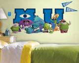 Monsters University Giant Character Collage Peel & Stick Wall Decals Decalque em parede