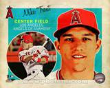 Mike Trout 2013 Studio Plus Photo