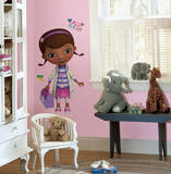 Doc McStuffins Peel & Stick Giant Wall Decals Vinilo decorativo