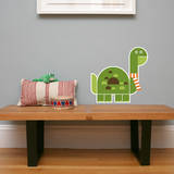 Letter D - Don the Dinosaur Wall Decal Wall Decal by Wee Society