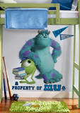 Monsters University Sully & Mikey Peel & Stick Giant Wall Decals Decalque em parede