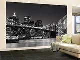 New Yorks skyline Vægplakat i tapetform