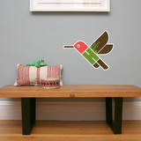 Letter H - Hai the Hummingbird Wall Decal Wall Decal by Wee Society