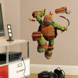 Teenage Mutant Ninja Turtles Mike Peel &amp; Stick Giant Wall Decals Wall Decal