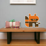 Letter R - Riley the Raccoon Wall Decal Wall Decal by Wee Society