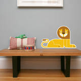 Letter L - Leo the Lion Wall Decal Wall Decal by Wee Society