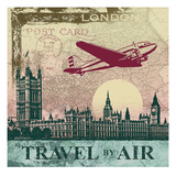 Travel by Air Prints by Malcolm Watson