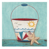 Beach Pail Posters by Elle Summers
