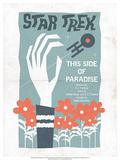 Star Trek Episode 24: This Side of Paradise TV Poster Poster