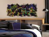 Teenage Mutant Ninja Turtle Trouble Graphix Peel & Stick Wall Decals Wandtattoo