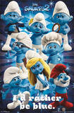 The Smurfs 2 Group Movie Poster Posters