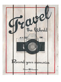 Travel the World Poster von Hope Smith
