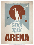 Star Trek Episode 18: Arena TV Poster Kunstdrucke