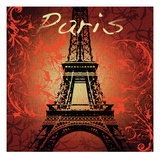 Paris Monument Print by Malcolm Watson