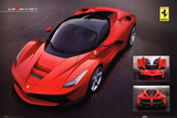 Ferrari Laferrari Car Poster Photo
