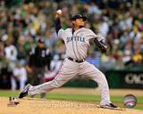 MLB Felix Hernandez 2013 Action Photo