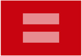 Marriage Equality Symbol Poster Reprodukcje