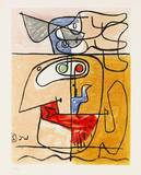 Unité, 1965 Prints by  Le Corbusier