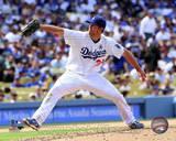 MLB Clayton Kershaw 2013 Action Photo