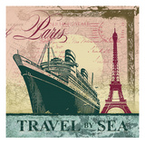 Travel by Sea Giclee Print by Malcolm Watson