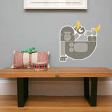 Letter G - Gloria the Gorilla Wall Decal Wall Decal by Wee Society