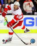 Johan Franzen 2012-13 Action Photo