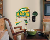 George Mason University Peel & Stick Giant Wall Decals with Hooks Wall Decal