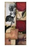 Hollyhock Story 1 Giclee Print by  DeRosier