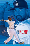Matt Kemp Los Angeles Dodgers Baseball Poster Poster