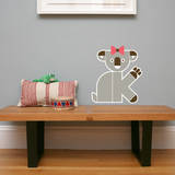 Letter K - Kate the Koala Wall Decal Wall Decal by Wee Society