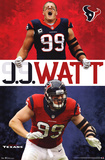 JJ Watt Houston Texans Football Poster Print